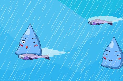 儿歌童谣 快乐的雨点