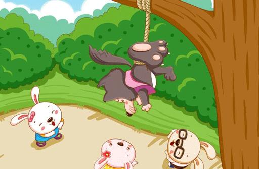 儿童故事三只小兔
