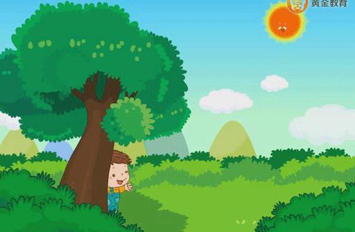 儿歌童谣 我跟太阳做游戏