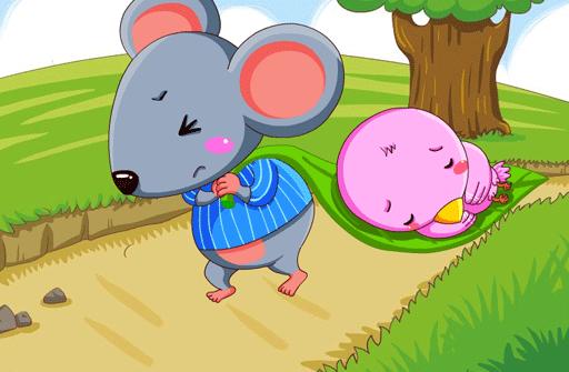 儿童故事乐于助人的小老鼠