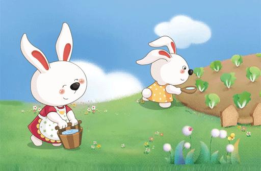 儿童故事兔妈妈的萝卜和白菜