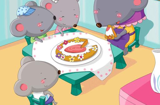 儿童故事最好吃的蛋糕