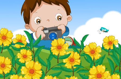 儿歌童谣 看花