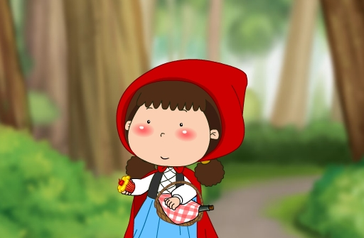 儿童故事 Little Red Riding Hood